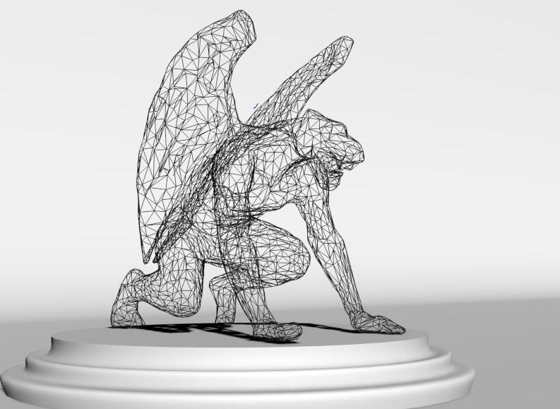 Impresión 3D. Puente de las Gargolas Modelizado 3D.