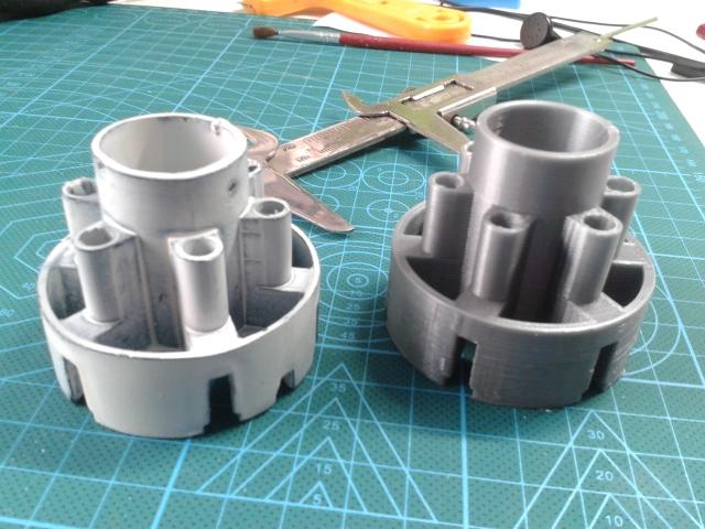 Impresión 3D. Ingeniería Inversa. Pieza.